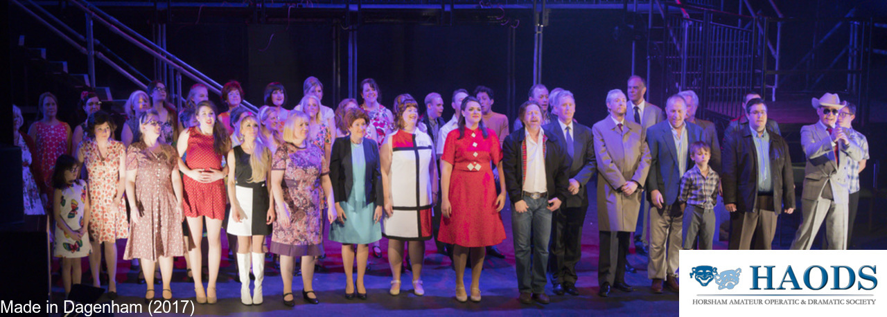 The HAODS cast of Made in Dagenham