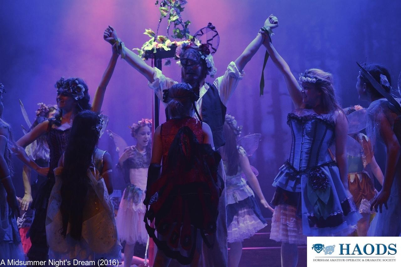 Bottom dances with the fairies